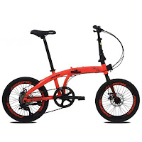 Sepeda Lipat Pacific 2980RX 6.8 Folding Bike