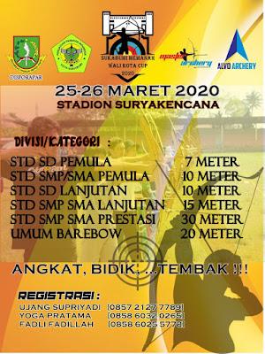 Kejuaraan Panahan Walikota Cup Sukabumi 2020