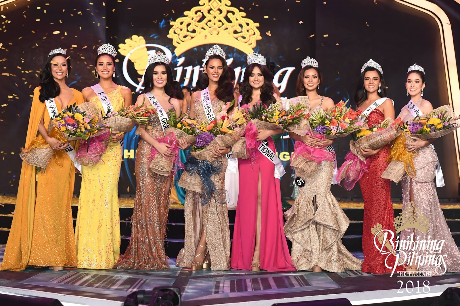 Miss Philippines List of Winners, Catriona Gray crowned as Miss