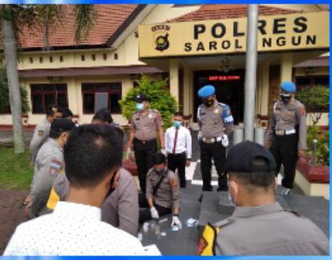 Tim Gabungan dari Bid Propam bersama dengan Dit Resnarkoba dan Bid Dokkes Polda Jambi (Sidak) ke wilayah hukum Polres Sarolangun, Polres Merangin dan Polres Bungo