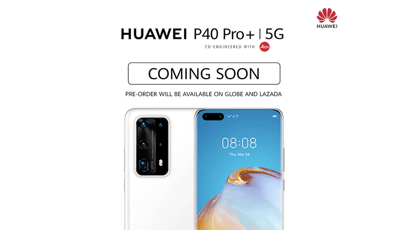 Huawei P40 Pro+ with 5G and 100x zoom will be available in the Philippines soon!