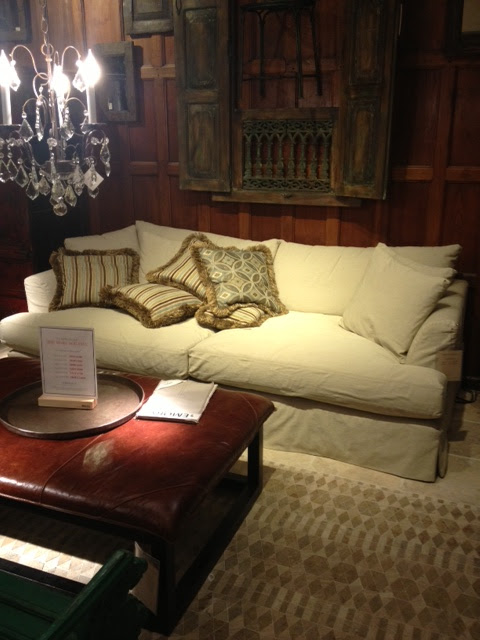 petite belgian track arm slipcovered sofa target grey convertible rachel s nest our decision the emory grand from arhaus