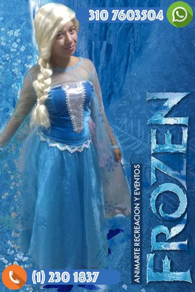 Frozen en tu fiesta infantil