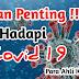 Saran Penting Menghadapi Wabah Virus Corona / Covid 19 dari Para Ahli Kejiwaan