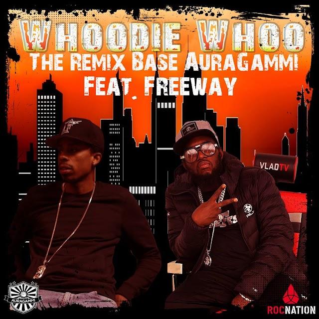 "Base AuraGammi Ft. Freeway ""Whoodie Whoo the Remix"""