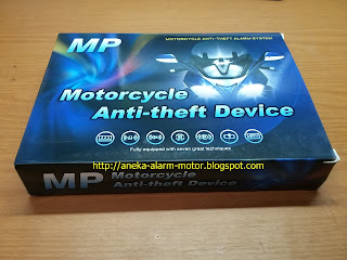 Alarm Motor MP Super one way (1way)