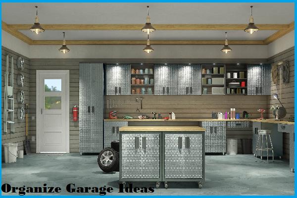 organizer garage ideas