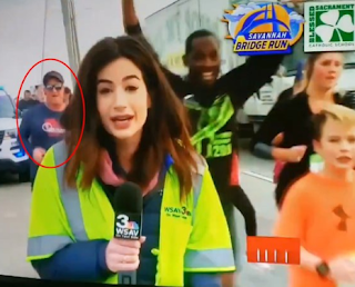Man Who Slapped Female Reporter's Butt On Live TV Identified As A Youth Pastor And A Boy Scout Leader (Photos)