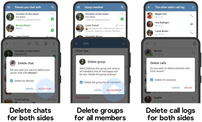 Telegram Adjust Chat