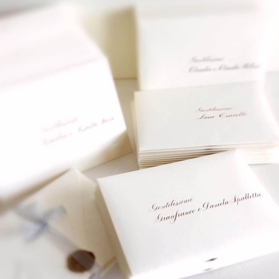 Partecipazioni Matrimonio Nome Invitati.Calligrafia Last Minute Ceciliab