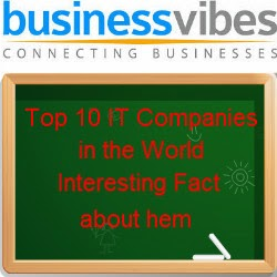 Top 10 IT Company in the World