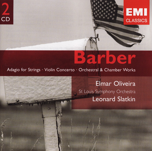 O Púbis da Rosa: BARBER : Adagio for Strings, Violin Concerto, Orchestral &  Chamber Works (2001) 2xCD / FLAC (tracks), lossless