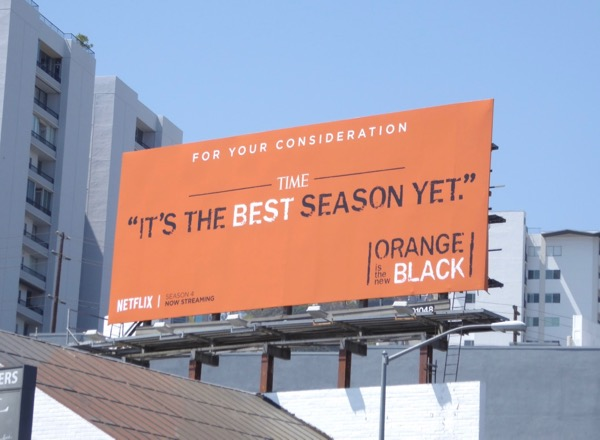 Orange is New Black 2017 Emmy billboard