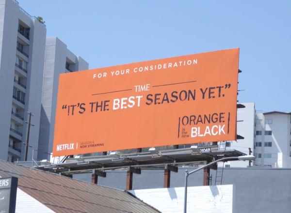 Orange is New Black 2017 Emmy billboard