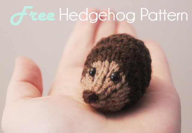 Free toy knitting pattern baby hedgehog