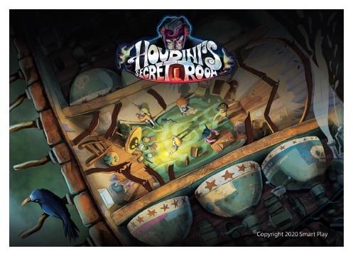 Houdini's Secret Room Escape Game
