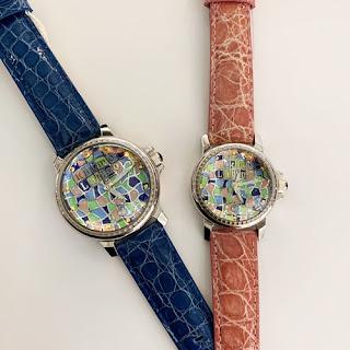 RitmoLatino リトモラティーノ 定番 上品 個性的な時計 モザイコ モザイク カラフルウォッチ
