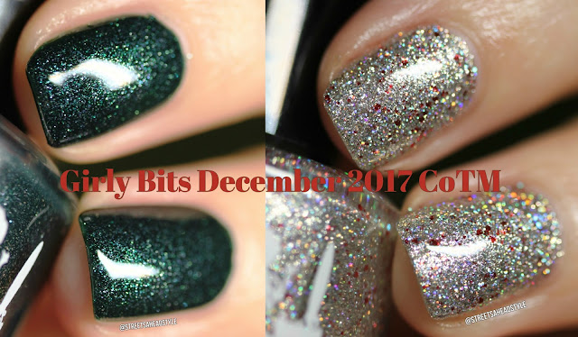Girly Bits December 2017 CoTM Fir Realz and Slay Belle