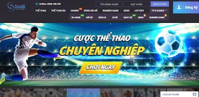 Nhà cái ONE88 – Địa chỉ cá cược bóng đá uy tín số 1 Việt Nam