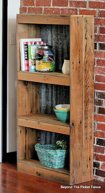Rustic Farmhouse Bookshelf