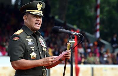 Jendral Gatot : TNI, Rakyat Dan Ulama Tidak Mungkin Dipisahkan