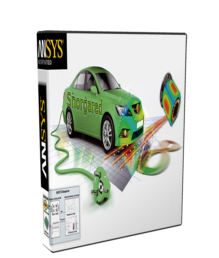 ANSYS Electromagnetics Suite 17.2 poster box cover
