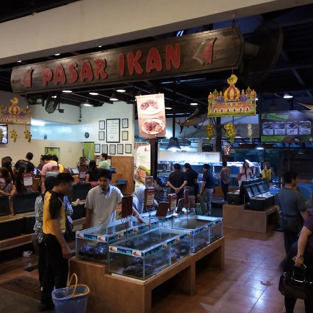 Pasar ikan bandar djakarta seafood