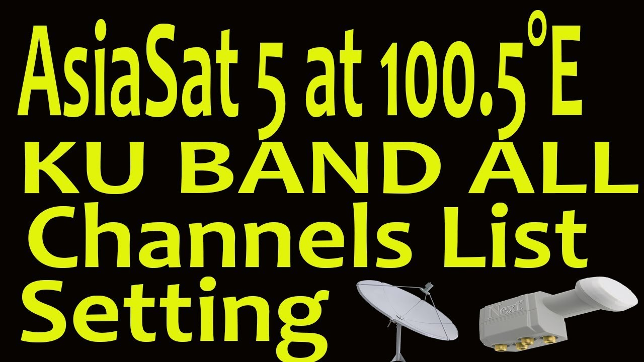 Asiasat 5 frequency list