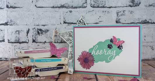 Congratulations Card featuring Free Products from Stampin' Up! UK