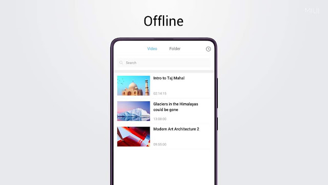 MI logo everywhere on MI Smartphones ?   MI Video app