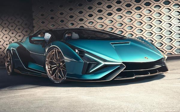 Lamborghini anuncia eletrificação de sua gama de esportivos