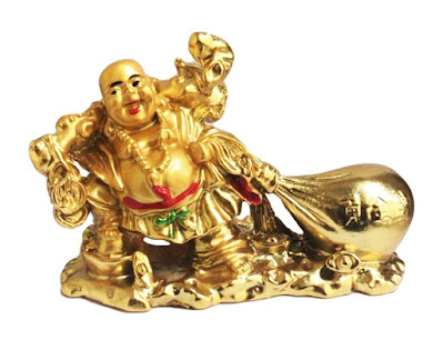 Golden Laughing Buddha For Gift Amazon