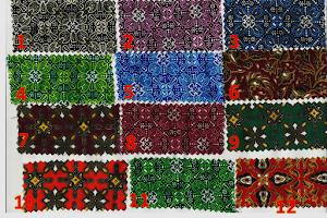 contoh motif batik 1