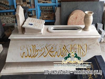 Desain Kijing Marmer Islam