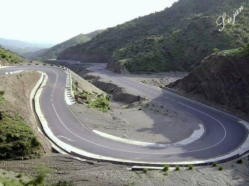 Road from Ghazi (Tarbela) to Sirikot,Pakistan