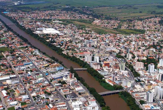 Imagem aérea de Tubarão - SC
