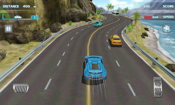 Turbo Car Racing 3D Apk Screenshot 1