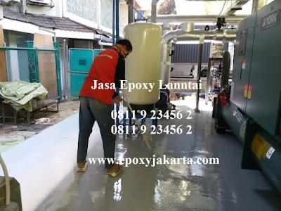 harga pekerjaan epoxy lantai