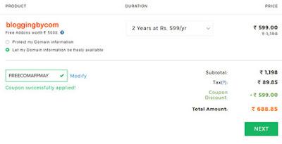 checkout and Buy domain name hindi