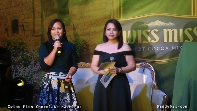 Swiss Miss Chocolate Hazelnut launch