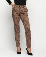 Spodnie we wzór