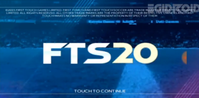 First Touch Soccer 2020 (FTS 20) New Mod