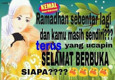 kata kata lucu tentang ramadhan