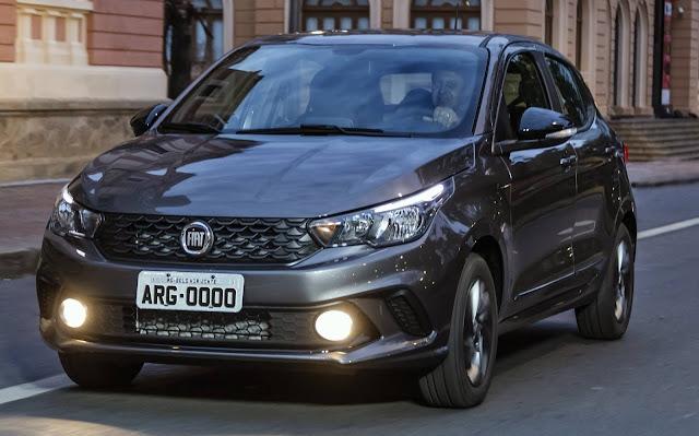 Fiat Argo 2020 ganha pacote de enfeites S-Design - vídeo