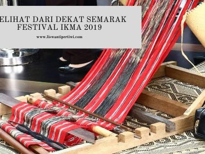Melihat Dari Dekat Semarak Festival IKMA 2019