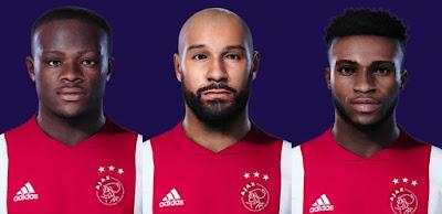 PES 2021 Facepack Ajax Amsterdam