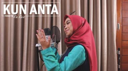 Ria Ricis, Lagu Religi, Lagu Cover, 2018,Download Lagu Ria Ricis - Kun Anta Mp3 [3,33MB]