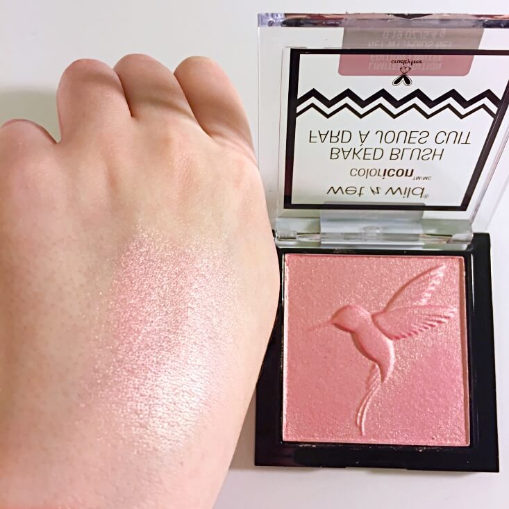 wet n wild coloricon Baked Blush Don't Flutter Yourself swatch