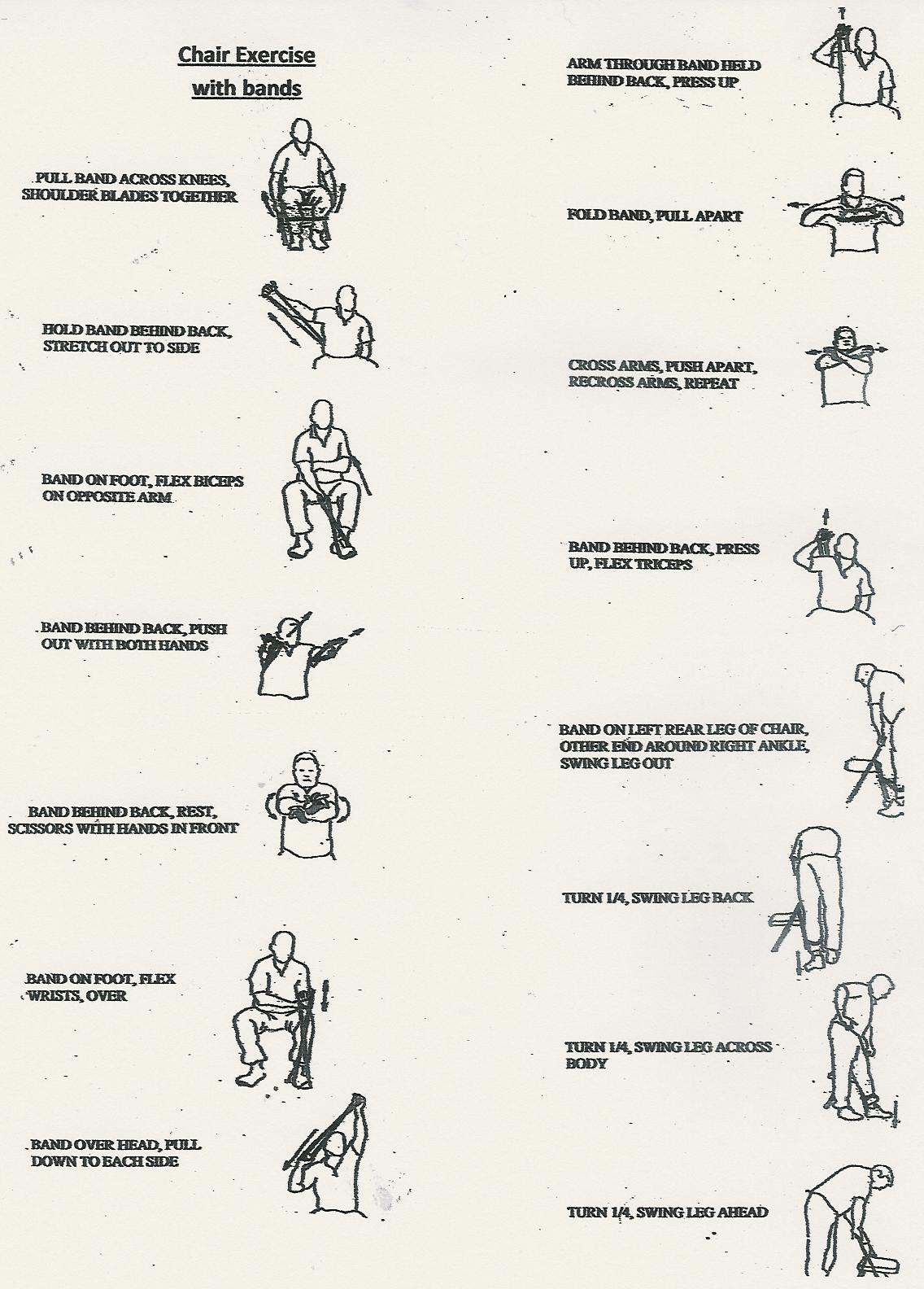 Exercises For Seniors Theraband Exercises For Seniors