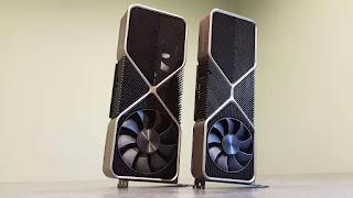 المعايير المتسربة Nvidia RTX 3080 Ti GPU داخل شعيرات RTX 3090